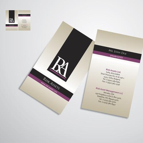 RA biz card