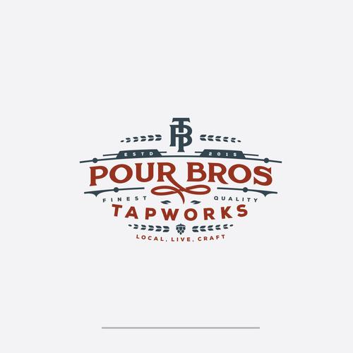 pour bros tapworks logo