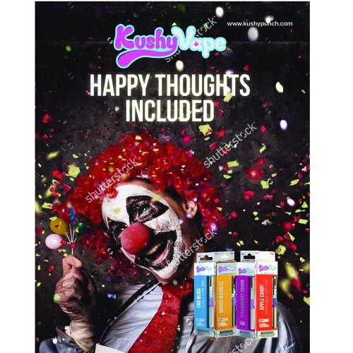 Kushy Vape Magazine Ad
