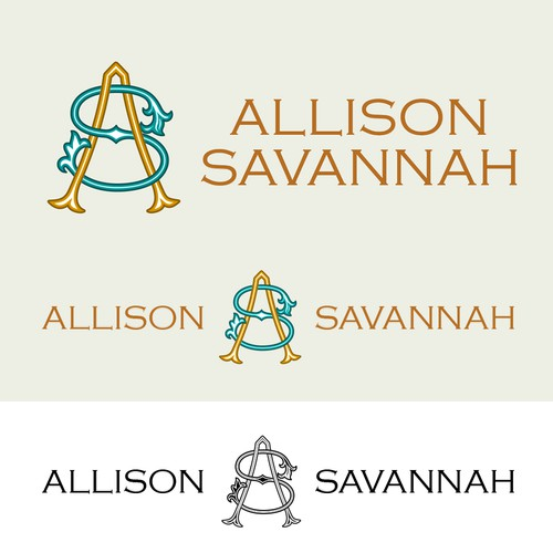 Allison Savannah - Logo for a Creative Coach