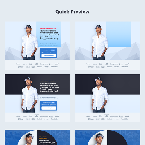 Image Header for Landing page