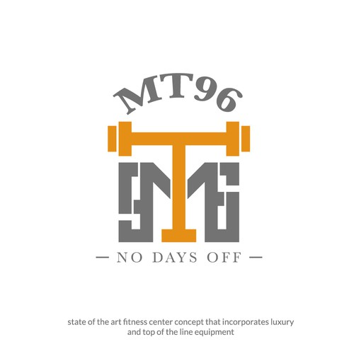 LOGO CONCEPT FOR MT96 FITNESS CENTRE