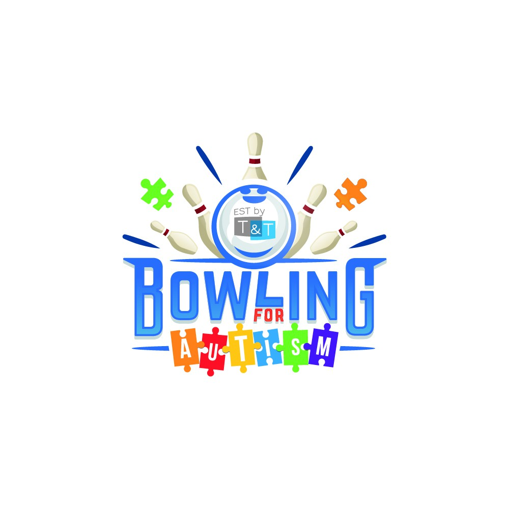 Design an Edgy Logo for Bowling for Autism!