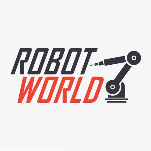 Create a logo for an Industrial Robot repair company