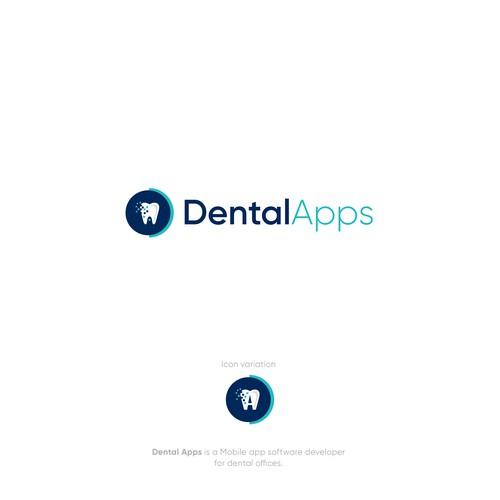 Logo for dental software company