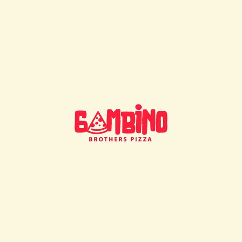 Logo Design For Gambino Brothers Pizza