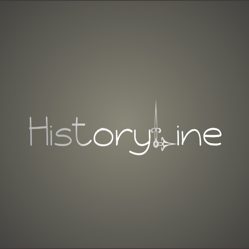 Create a distinctive logo for HistoryLines
