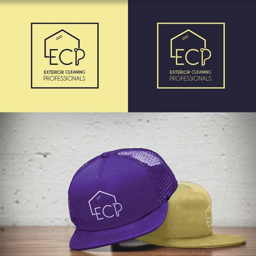 Logo concept for exterior cleaning company