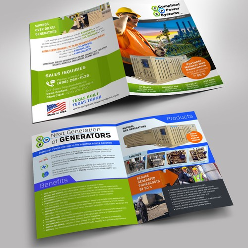 4 page brochure