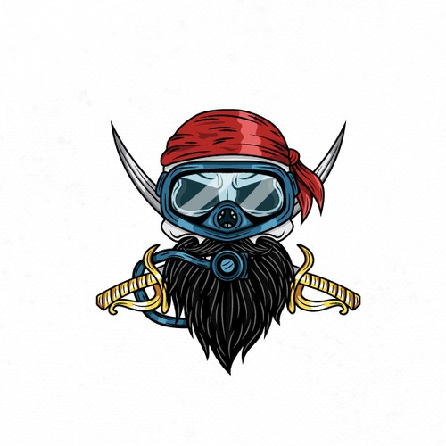 Logo Design Proposal for a Scuba Dive Instructor
