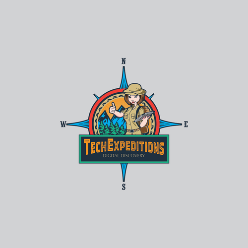 logo design for TechExpeditions