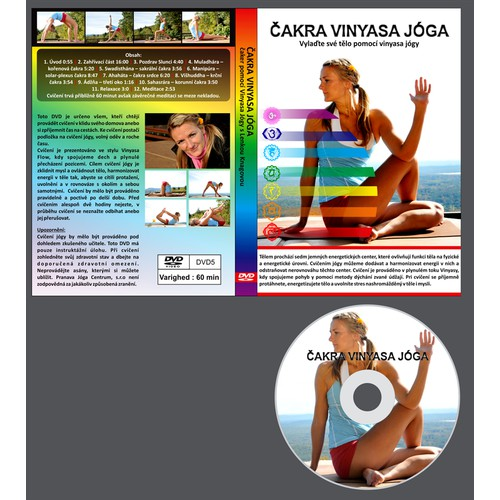 New print or packaging design wanted for YOGA DVD CASE DESIGN