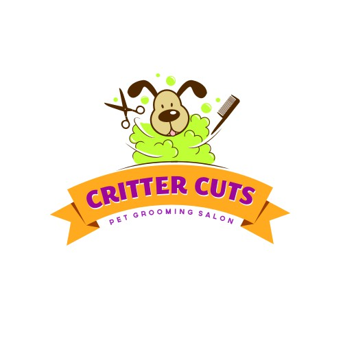Fun logo for pet salon