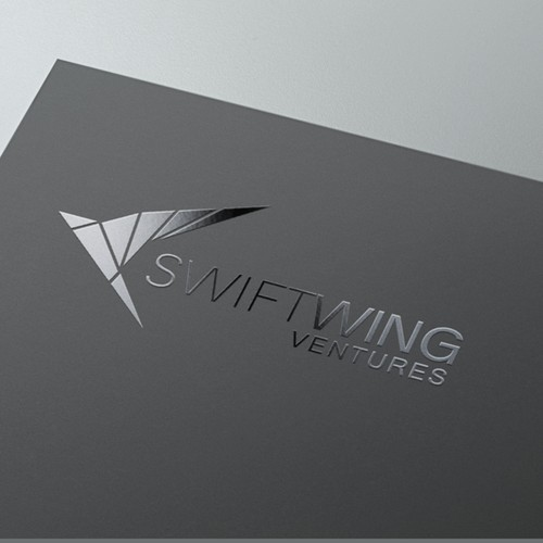 abstract logo for swiftwing
