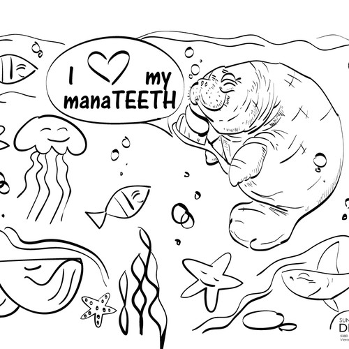 Coloring page for Sundance Family Dentistry