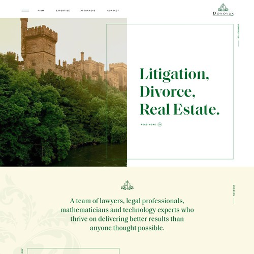 Litigation. Divorce. Real Estate.