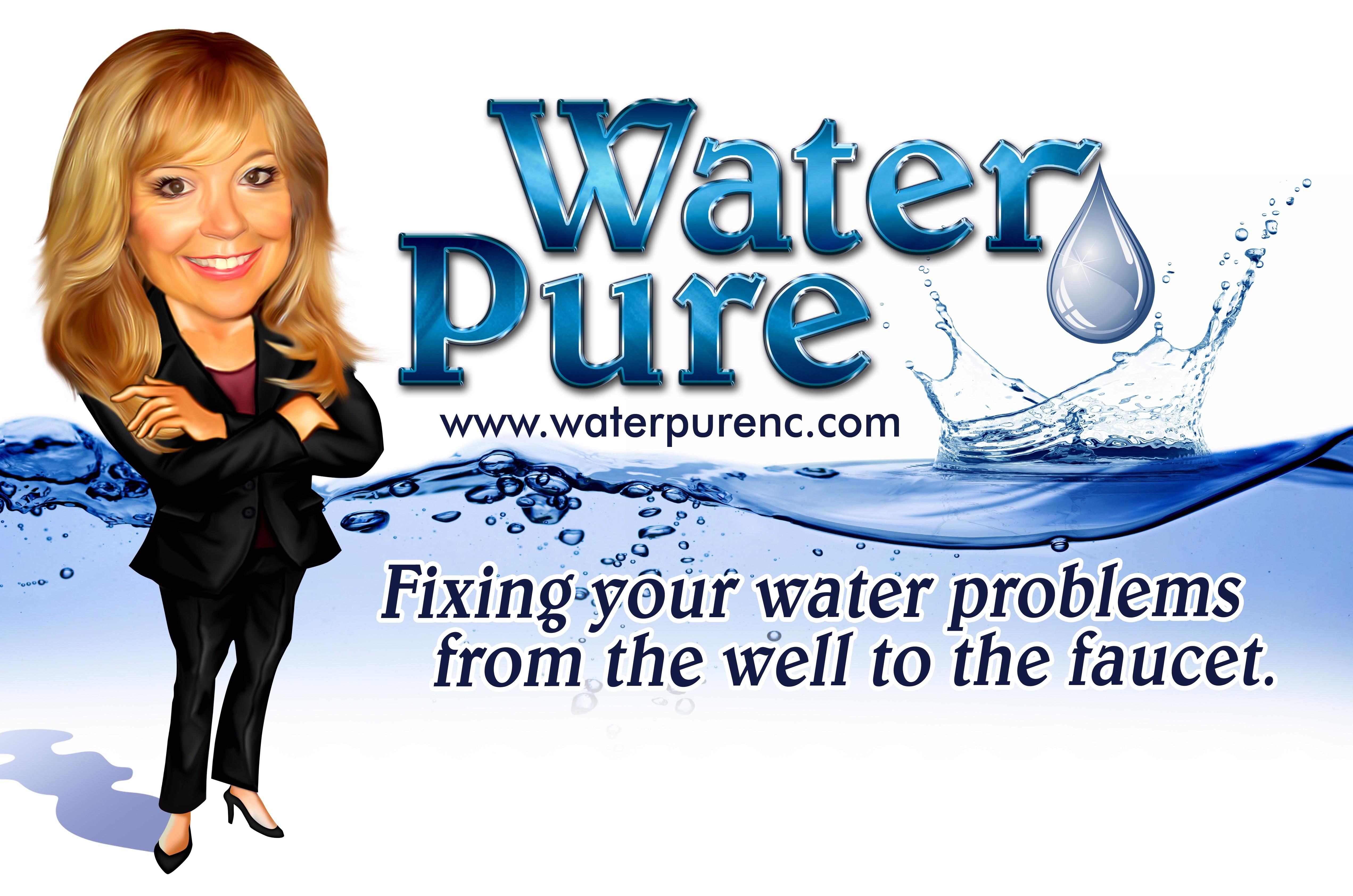 Water Pure Van signage