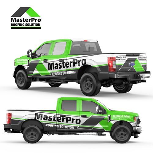 Master Pro Roofing Solution Full Wrap Design