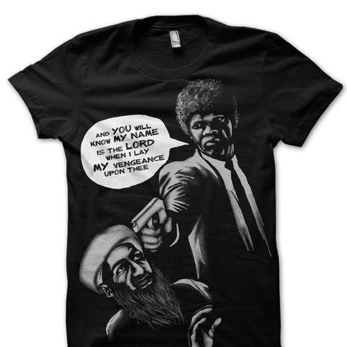 Pulp Fiction-Bin Laden T-Shirt