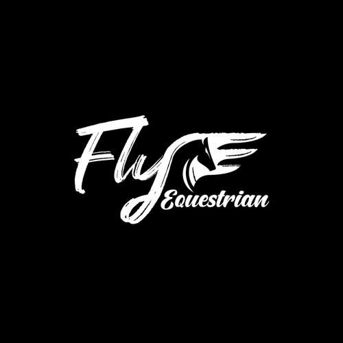 fly equestrian logo