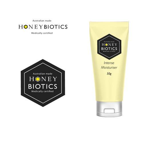 Logo for Honey Biotics