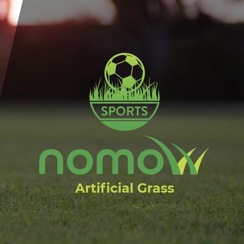 Nomow logo design