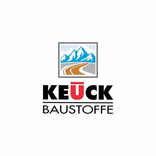 Keuck Baustoffe Contruction Logo