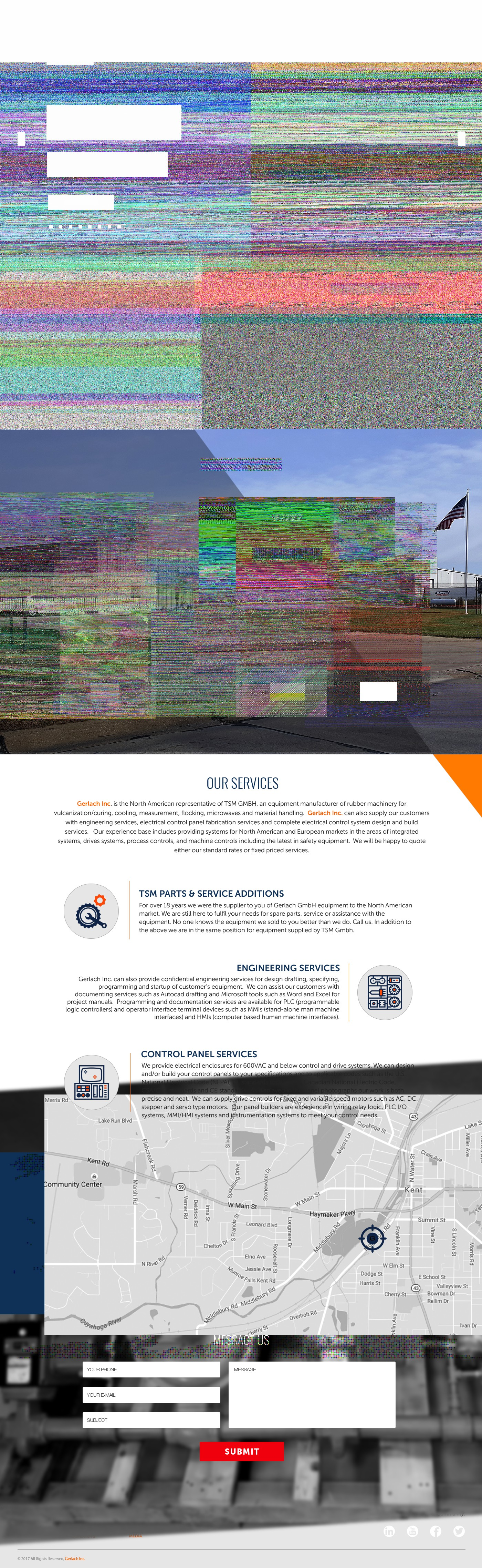 Responsive Webdesign for a machine company needed