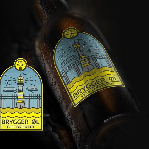 Brygger øl