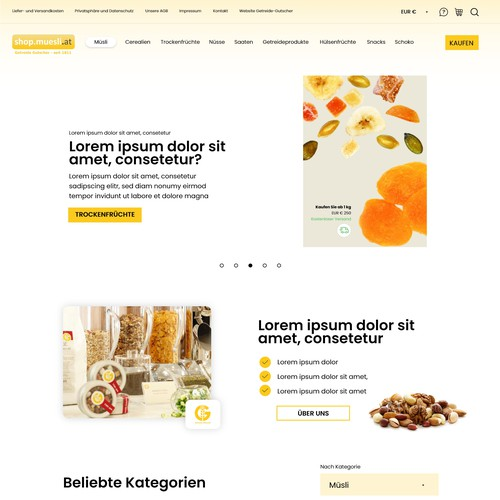 Online Store for Foodies