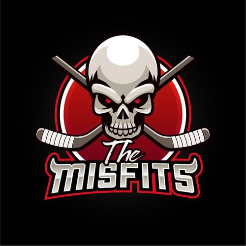 The Misfits logo design concept