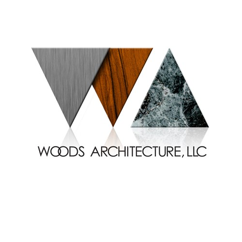 Help Woods Architecture, LLC with a new logo and business card