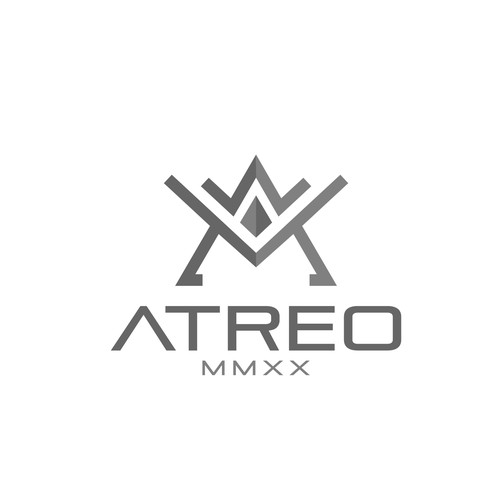 ATREO - Premium body building menswear logo for clothes