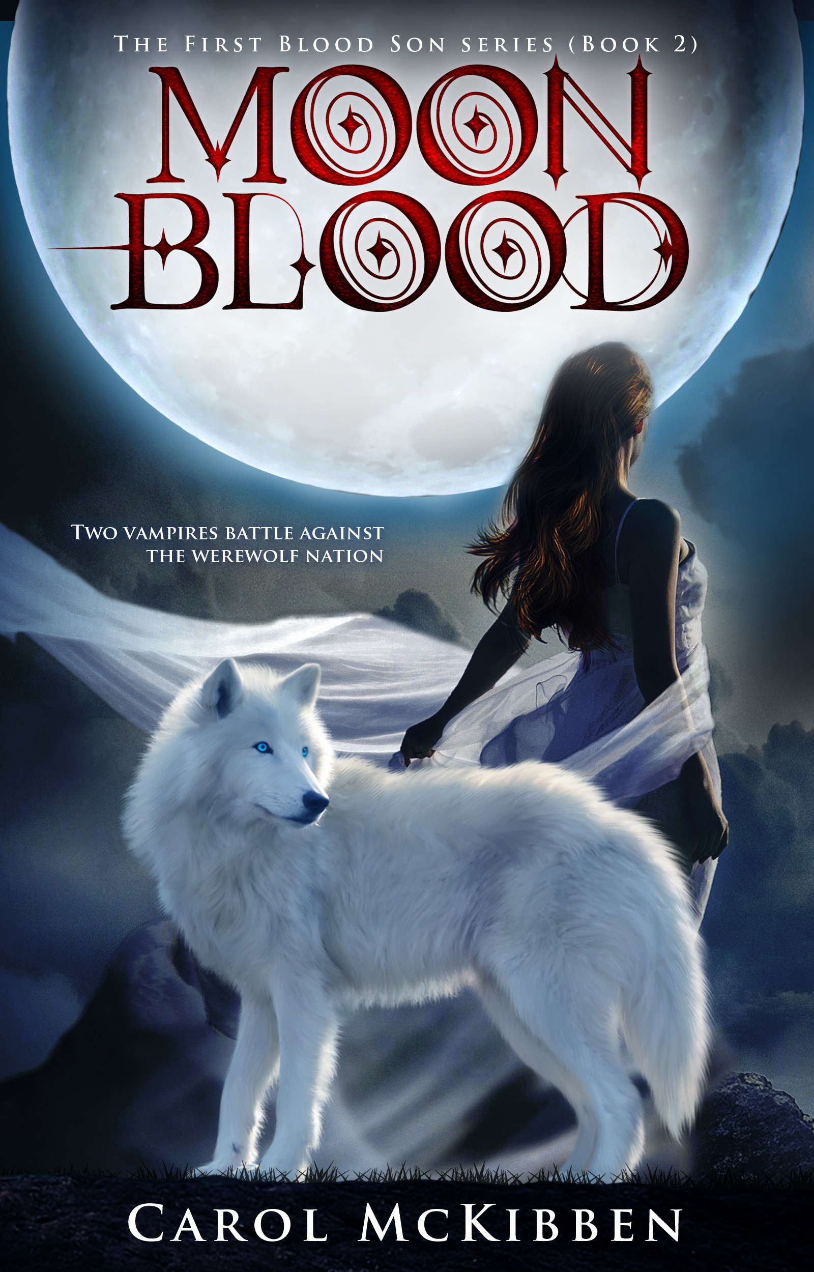 Book Cover needed for Moon Blood (a paranormal fiction)