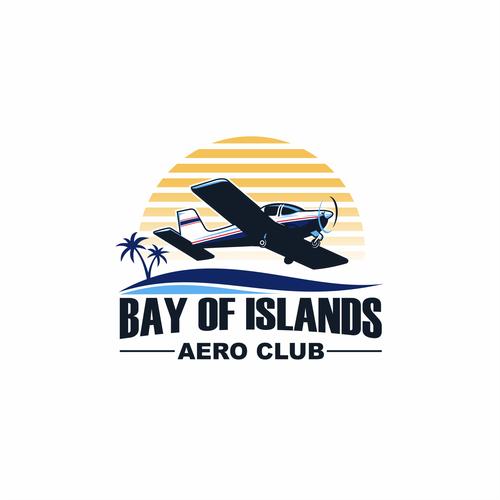 Bay of Islands Aero Club logo