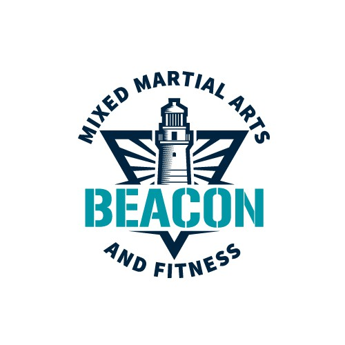 Classic Logo for a Fitness Company Using a Lighthouse