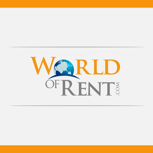 Create the next logo for World of Rent