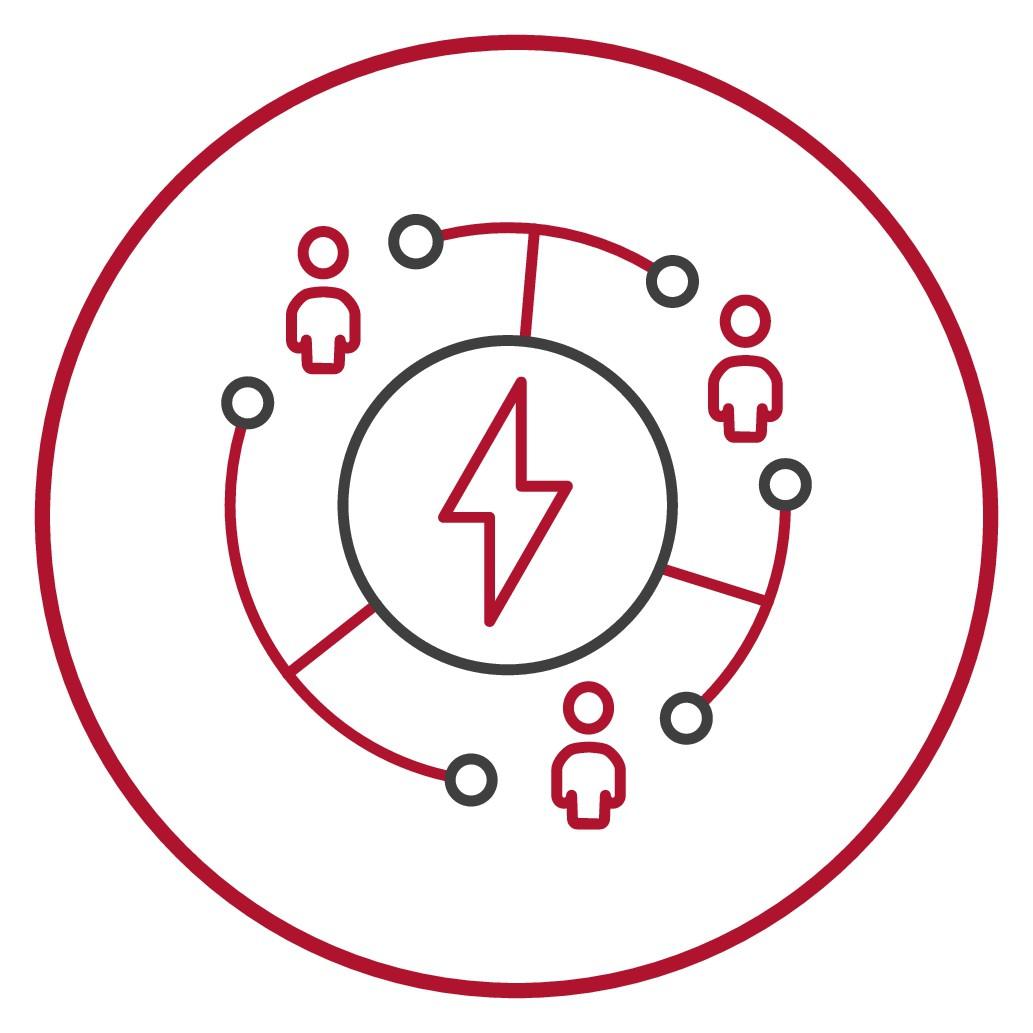 Logo/icon that represent company values