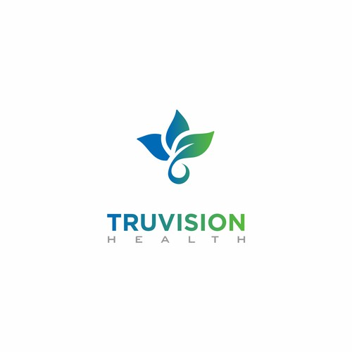 Simple logo concept for Truvision Health