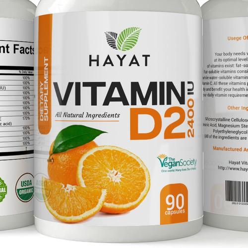 label for hayat vitamin company