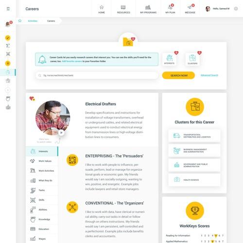 Smart Futures - Career screen