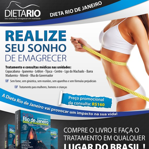 Full-page magazine advert to be used on the BIGGEST BRAZILIAN MAGAZINE! Quick feedback! *GUARANTEED*