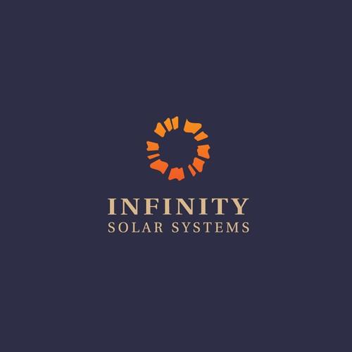 Creative Sun logo for Solar systems