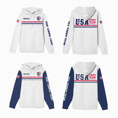 Designs For USA Tennis Team