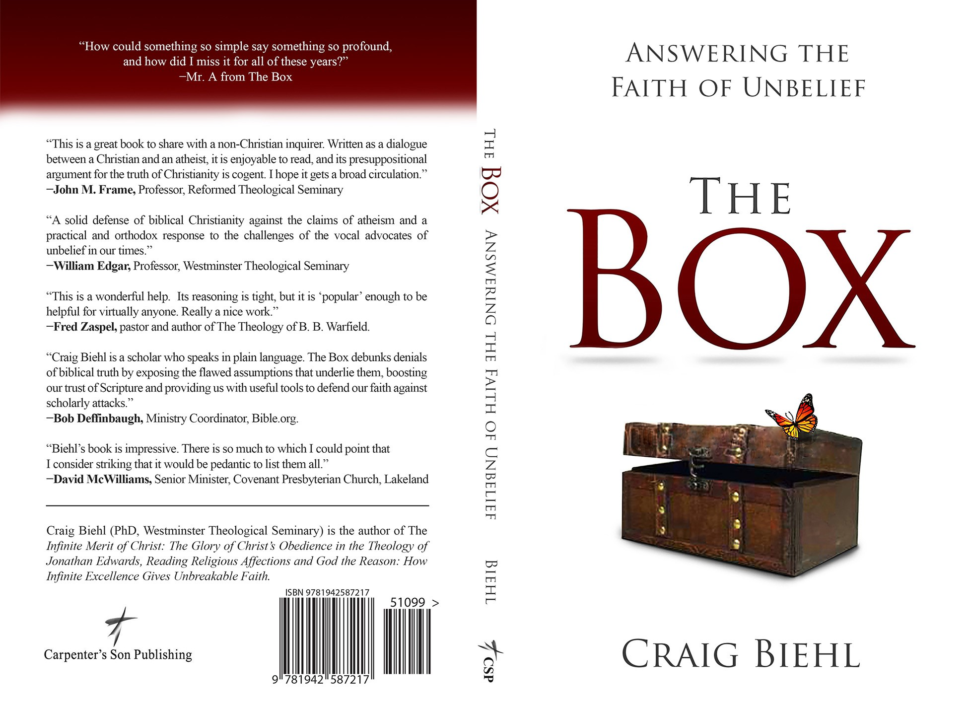 CLOSED to new designers: Book Cover for The Box