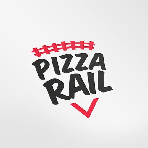 Logo design for Pizza rail