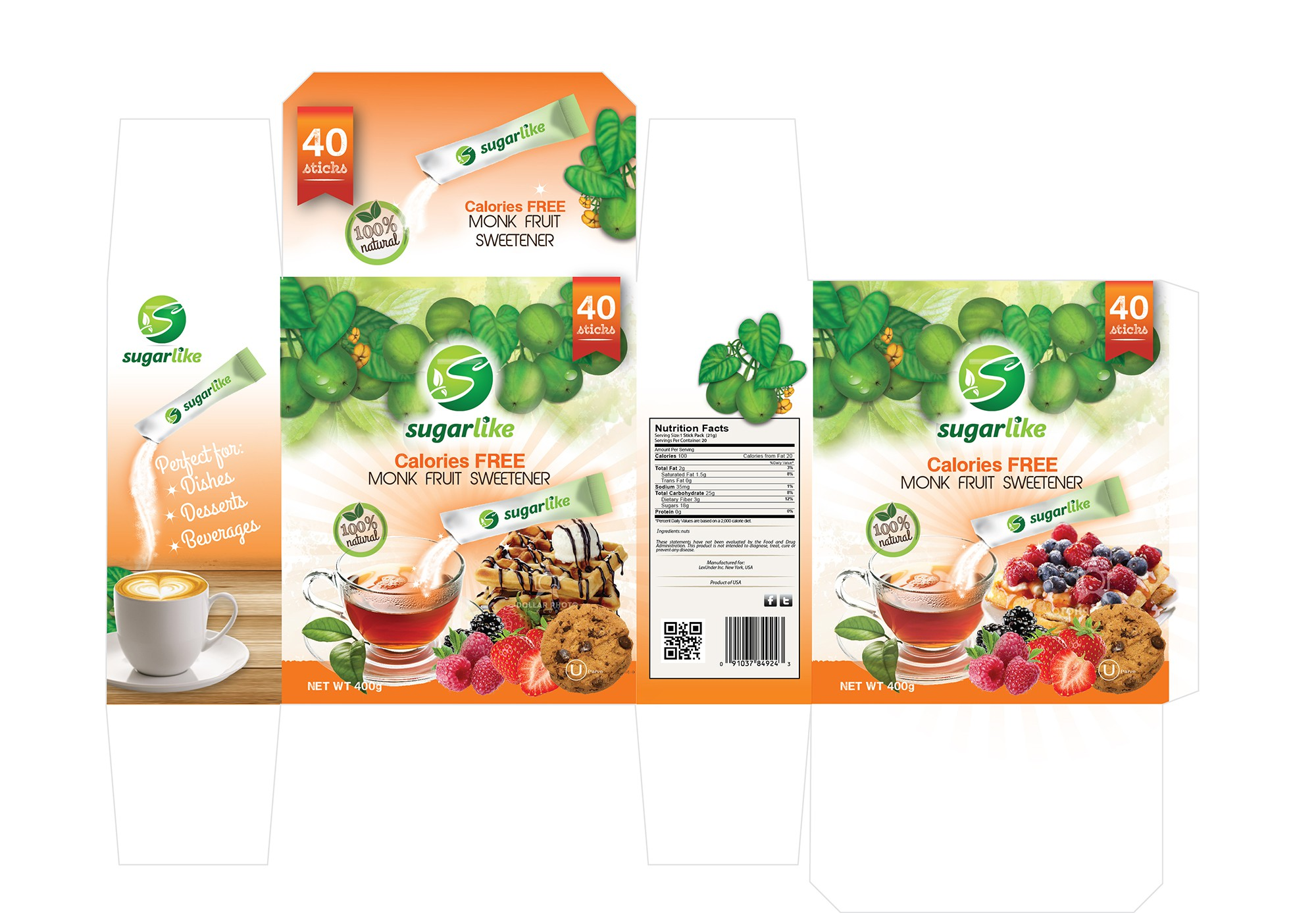 Create the look for the next big thing in healthy sweeteners