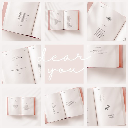 Typesetting and Interior Book Design for book Dear You,