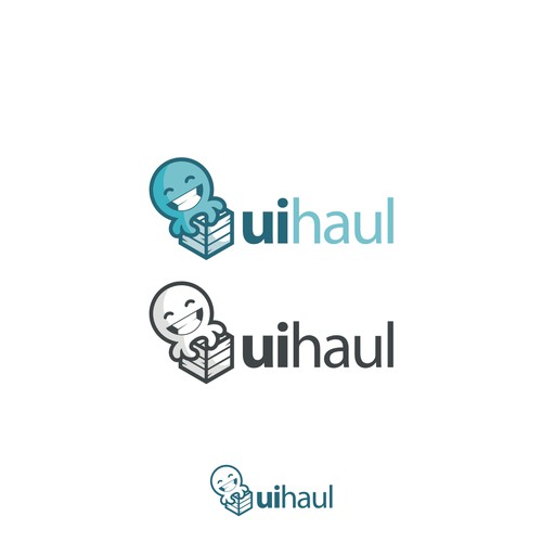 Octopus concept for uihaul logo