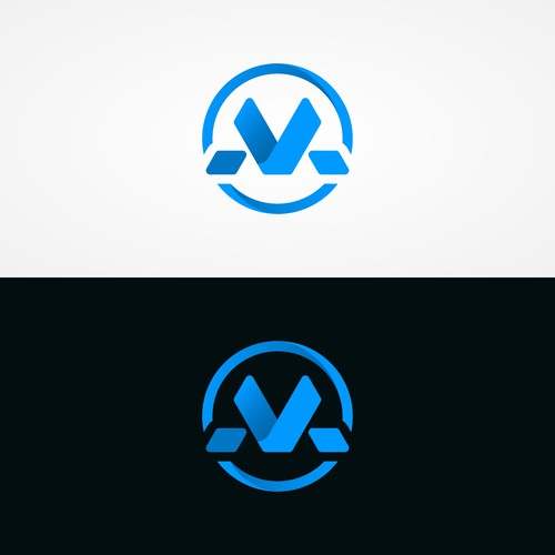 Letter M logo concept for Mechion